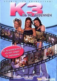 Cover K3 - In de Ardennen [DVD]